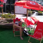 Na Vodafone pláži