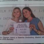 Jsem v novinách s certifikátem a je tu i malý rozhovor se mnou :)